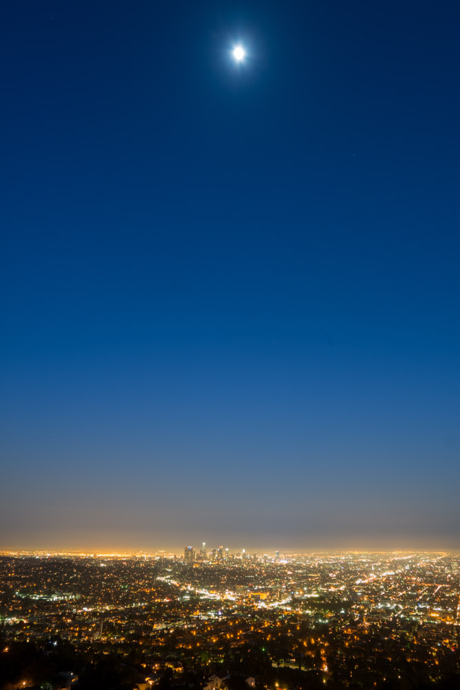 Moon City ~ Fujifilm X Pro 1 and 14mm 2.8 lens ~ 1 minute at f/8 ~ ISO 200