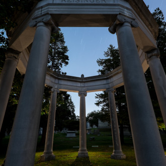Take your Lightpainting to the next level at the Woodlawn Cemetery Workshop