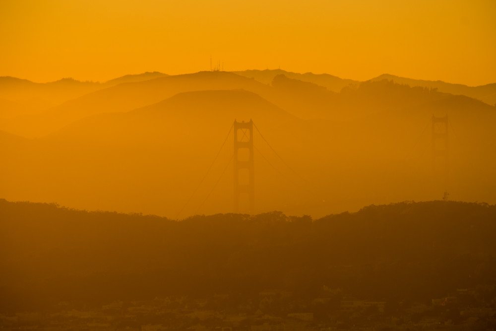 The Golden Gate ~ Fujifilm X Pro1 & 55-200 lens ~ 1/500s f/8 ISO 200