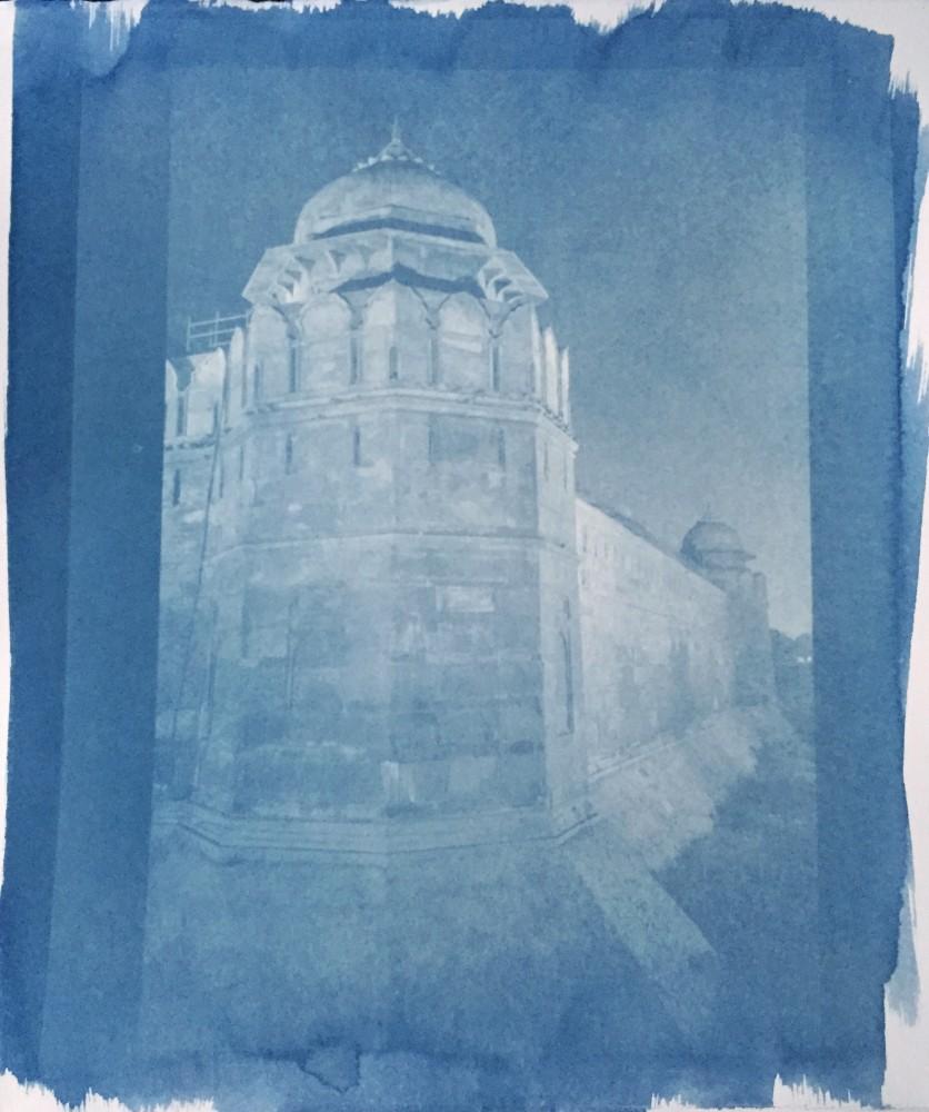 Cyanotype Fort, Delhi