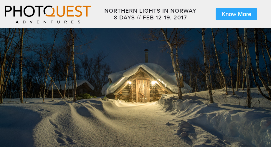 Photoquest Aventures - Northern Lights in Norway - 8 Days - FEB 12-19, 2017